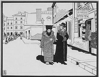 1906 artist rendering of Ostjuden in Germany.jpg